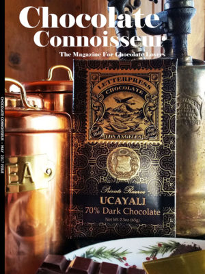 May 2017 Chocolate Connoisseur Issue Cover
