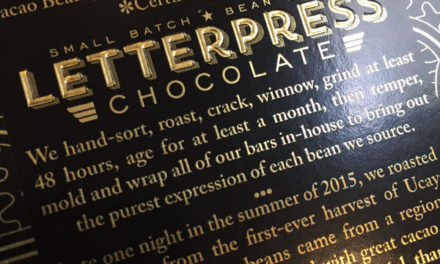 LetterPress Chocolate's Ucayali Bar – Inside Chocolate
