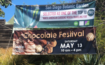 Marisa's Chocolate Adventure: San Diego Botanic Garden Chocolate Festival Preview