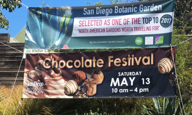 Marisa's Chocolate Adventure: San Diego Botanic Garden Chocolate Festival Preview