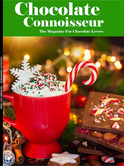 Chocolate Connoisseur Magazine December 2017 Issue Cover