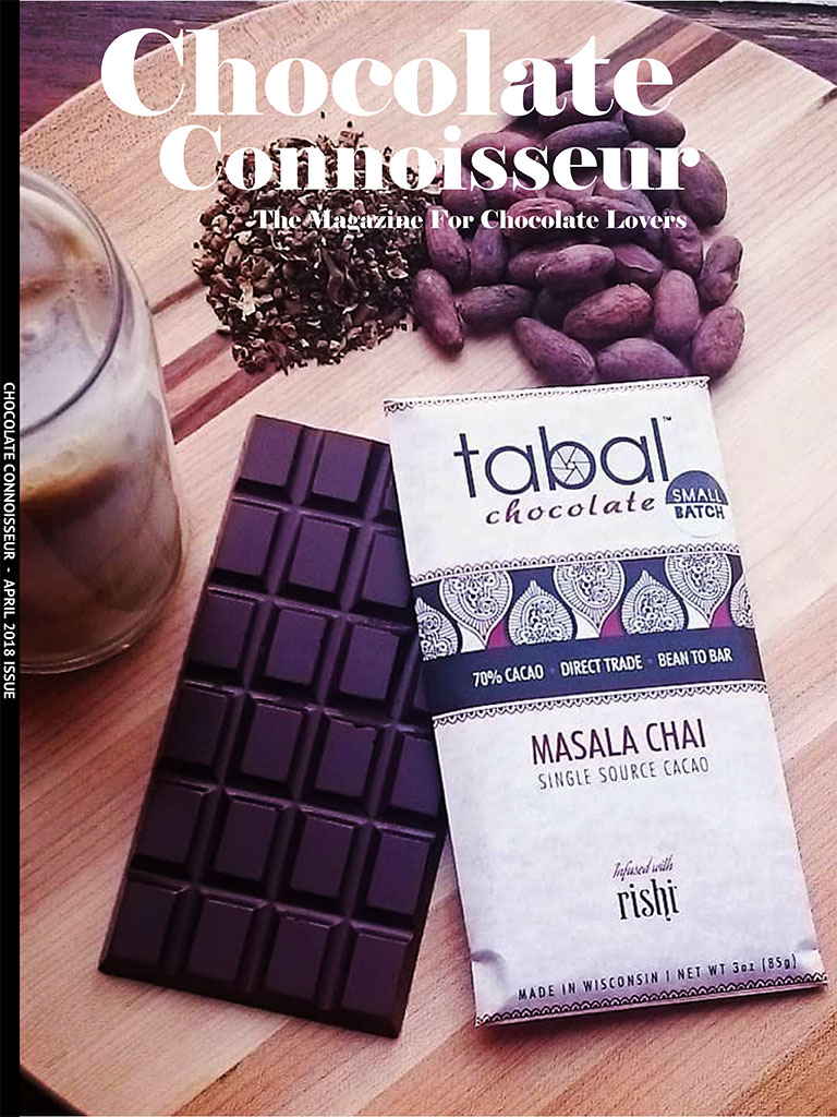 Chocolate Connoisseur Magazine April 2018 Issue Cover