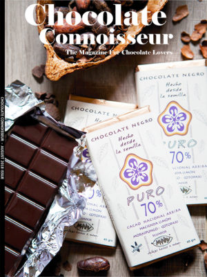 Chocolate Connoisseur Magazine August 2018 Issue Cover