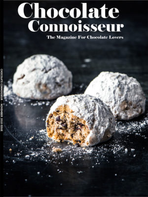 Chocolate Connoisseur Magazine November 2018 Issue Cover