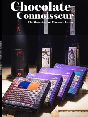 Chocolate Connoisseur Magazine March 2019 Issue Cover