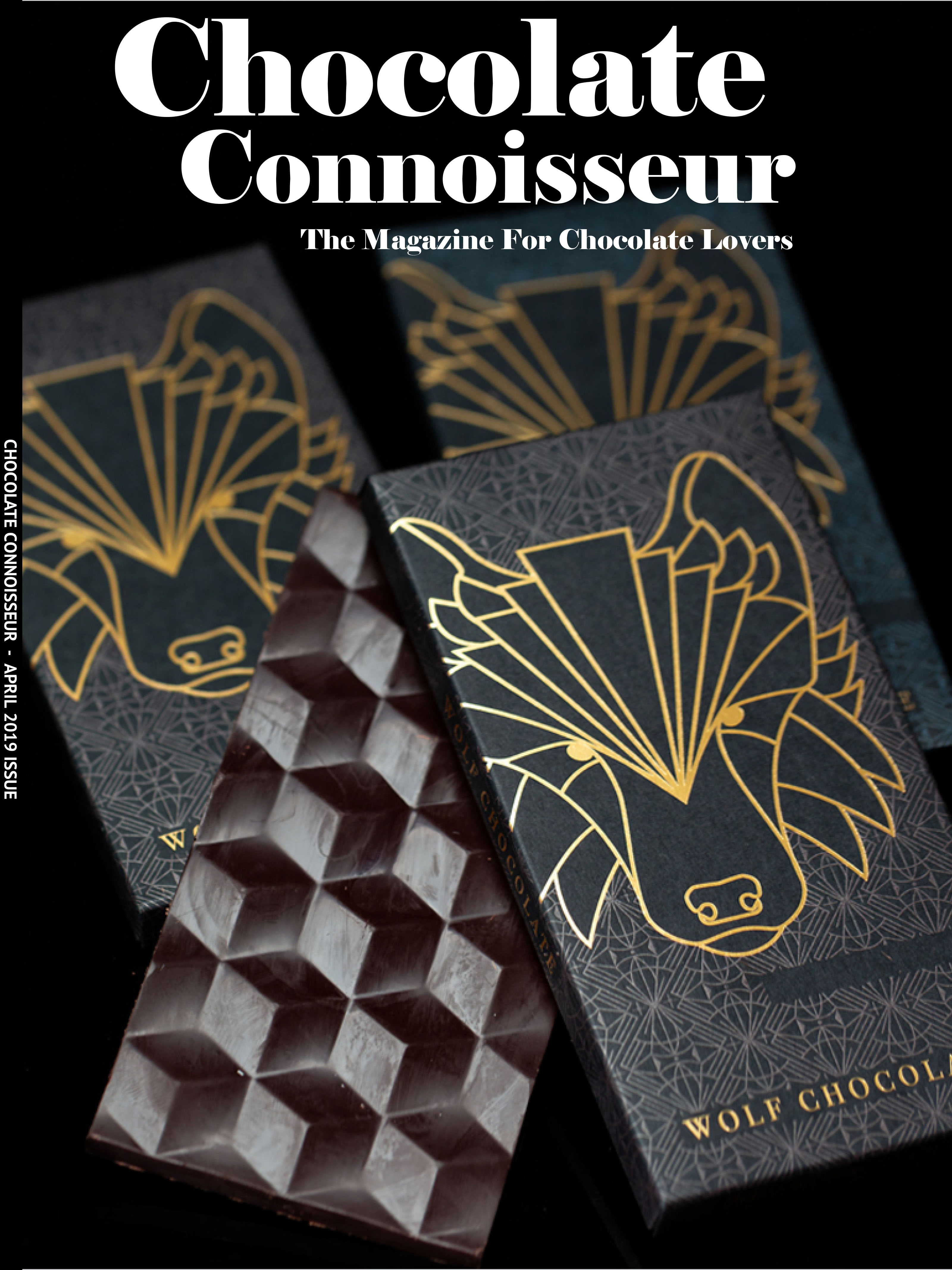 Chocolate Connoisseur Magazine April 2019 Issue Cover
