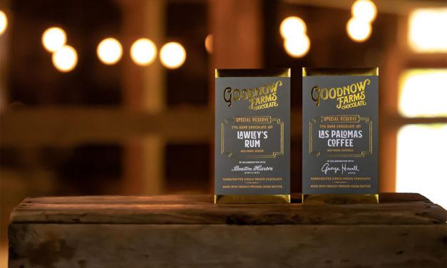 Goodnow Farms Lawleys Rum and Las Palomas Coffee Chocolate Bars