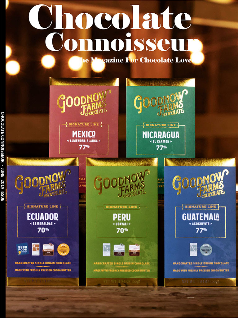 Chocolate Connoisseur Magazine June 2019 Issue Cover