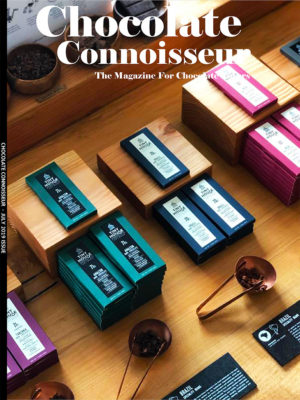Chocolate Connoisseur Magazine July 2019 Issue Cover