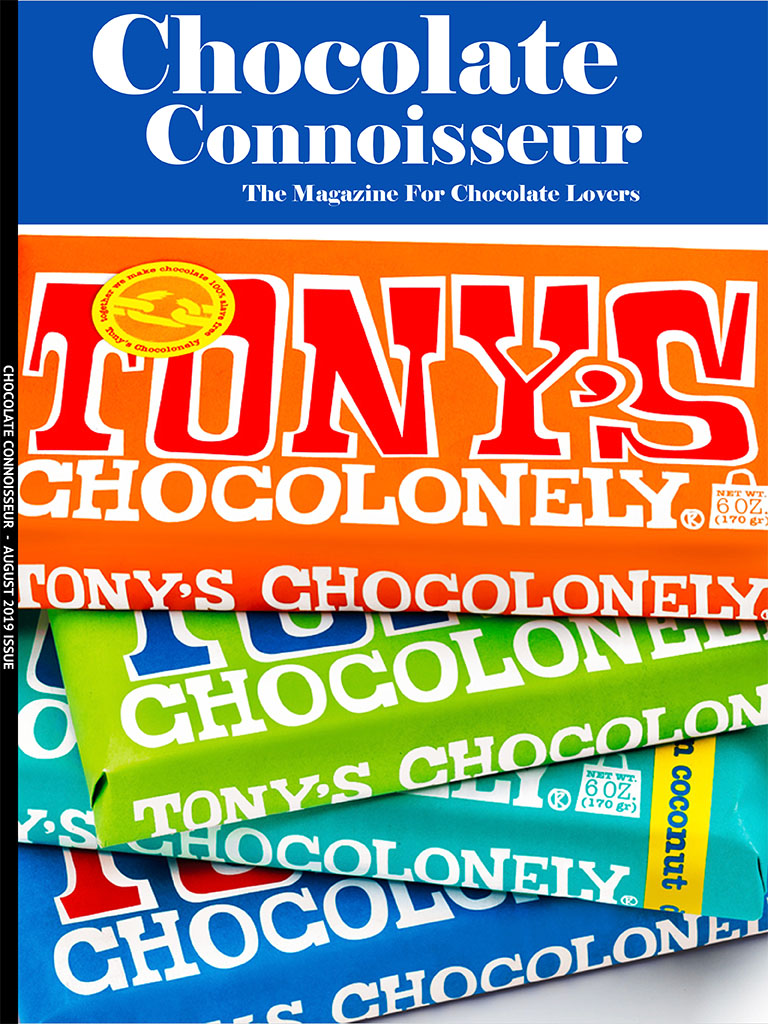 Chocolate Connoisseur Magazine August 2019 Issue Cover