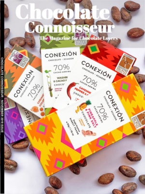 Chocolate Connoisseur Magazine November 2019 Issue Cover