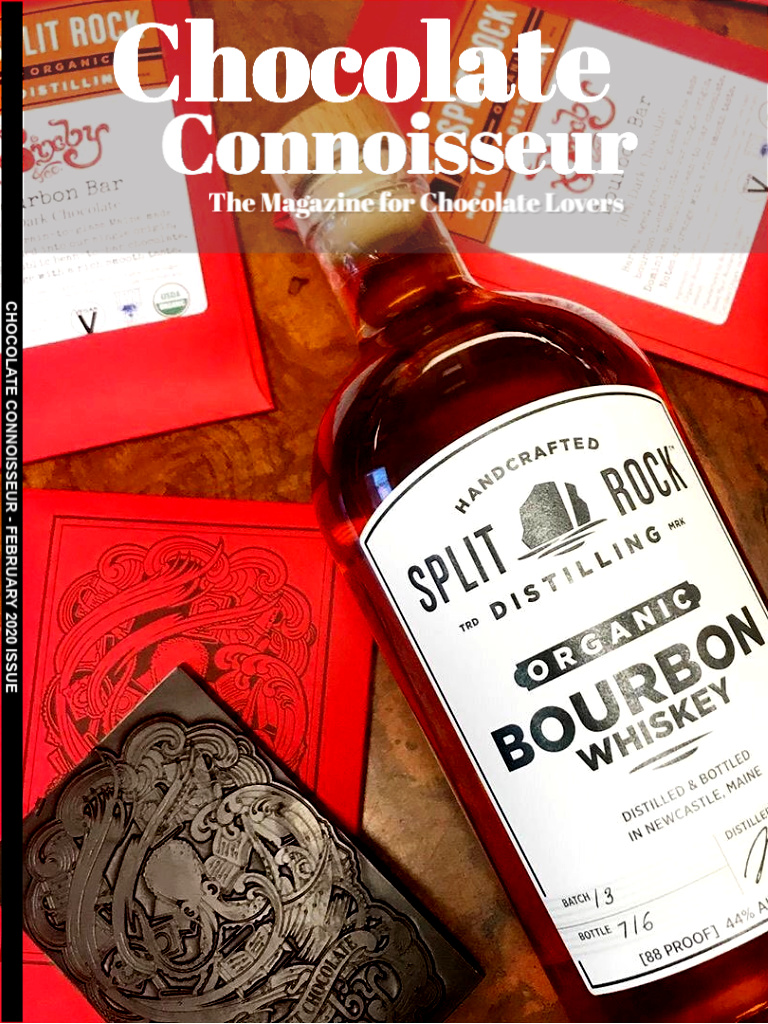 Chocolate Connoisseur Magazine February 2020 Issue Cover