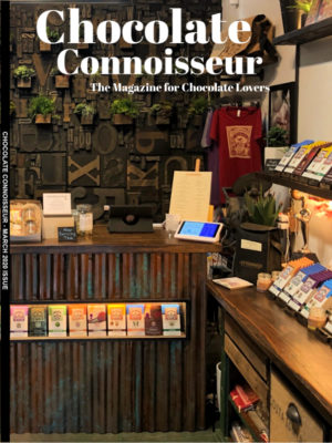 Chocolate Connoisseur Magazine March 2020 Issue Cover
