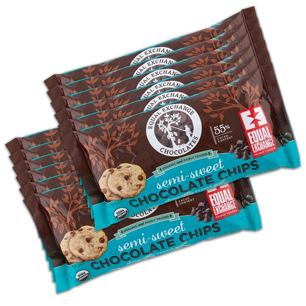 Equal Exchange Semi Sweet Chocolate Chips