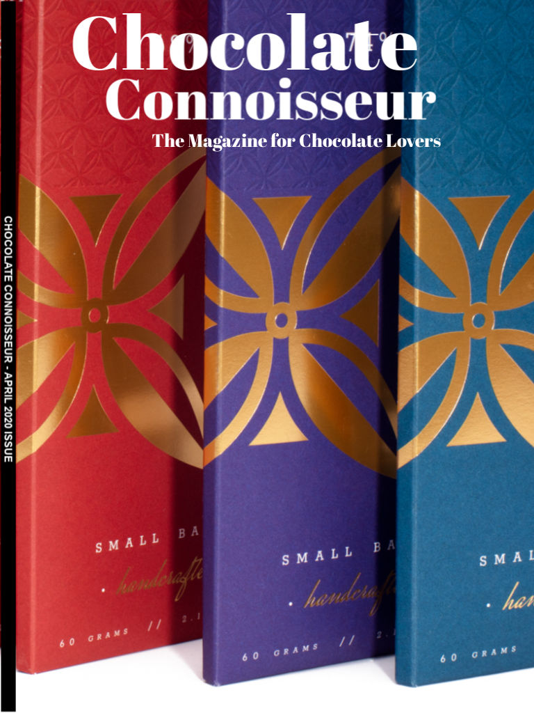 Chocolate Connoisseur Magazine April 2020 Issue Cover