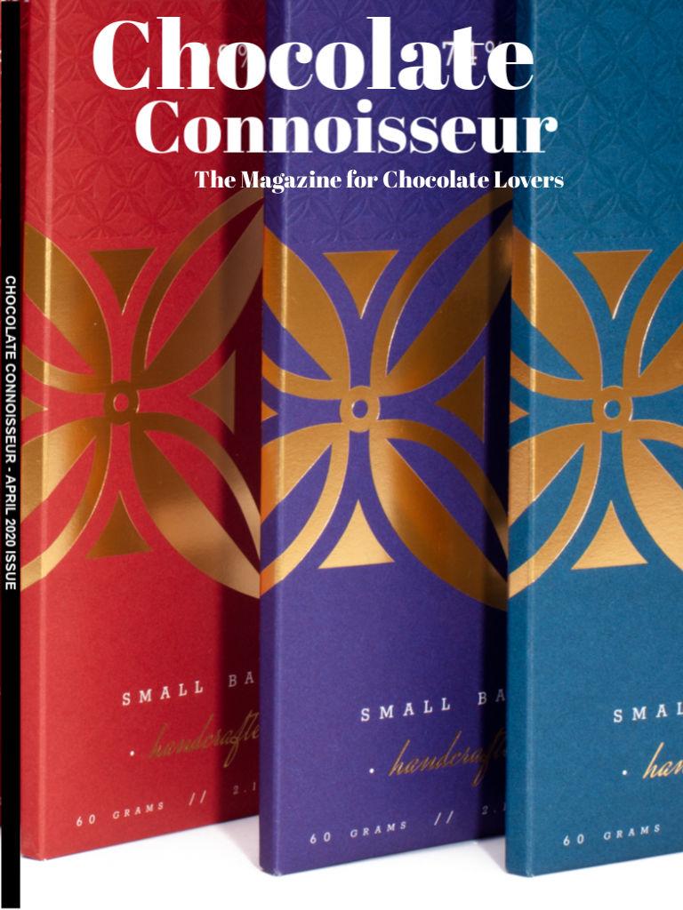 Chocolate Connoisseur Magazine April 2020 Issue Cover