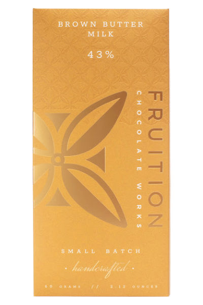 Fruition Chocolate Works Brown Butter Milk Bar