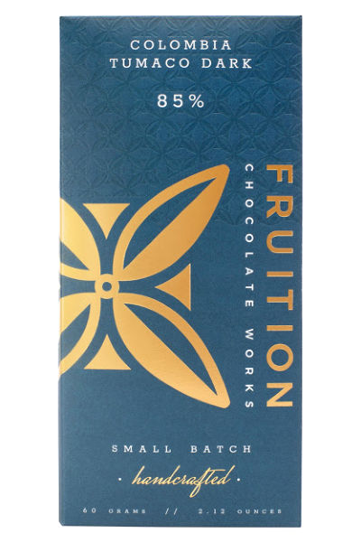 Fruition Chocolate Works Colombia Tumaco Dark Bar
