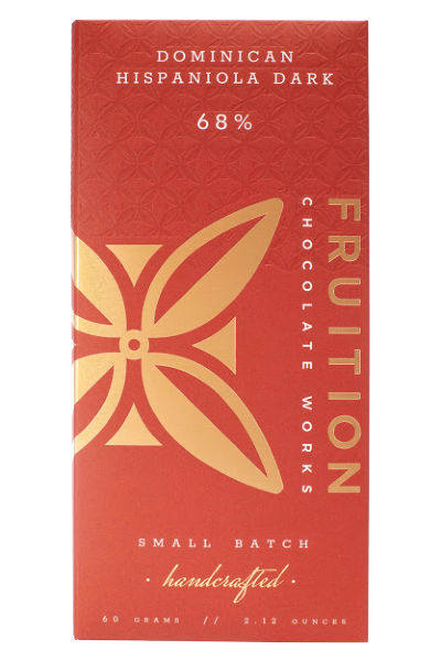 Fruition Chocolate Works Dominican Hispaniola Dark Bar