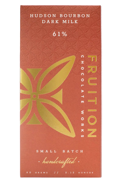 Fruition Chocolate Works Hudson Bourbon Dark Milk Bar