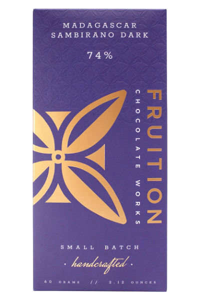 Fruition Chocolate Works Madagascar Sambirano Dark Bar
