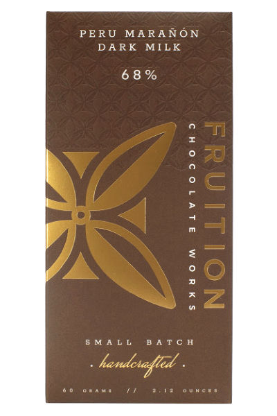 Fruition Chocolate Works Peru Maranon Dark Milk Bar