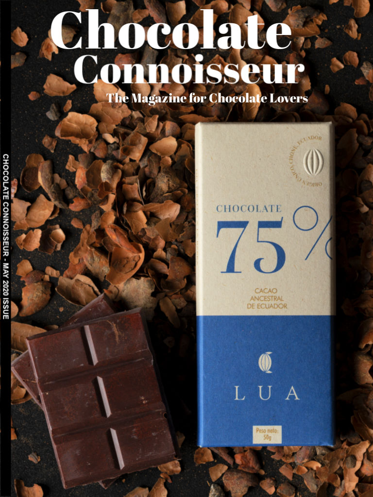 Chocolate Connoisseur Magazine May 2020 Issue Cover