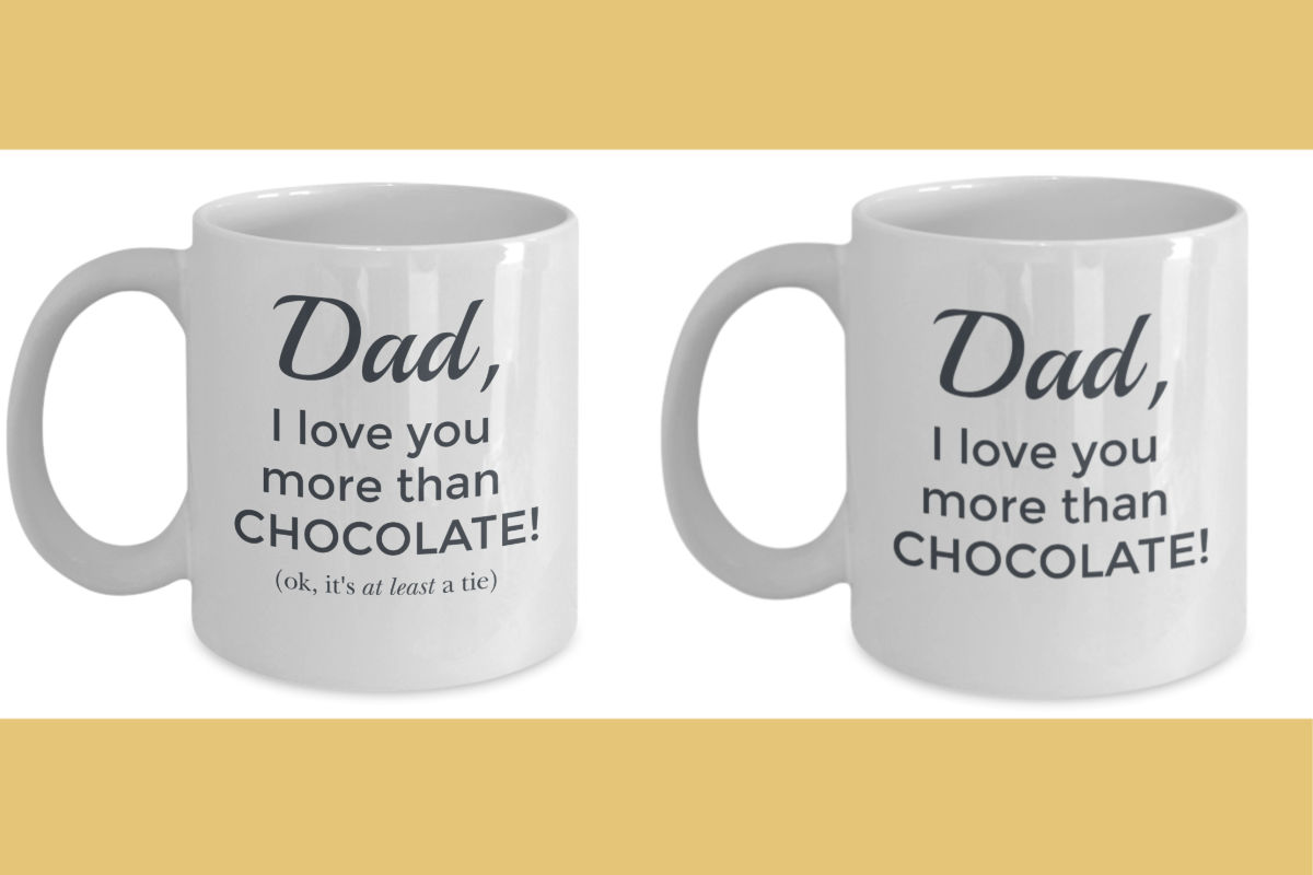 Father's Day Mugs Duo
