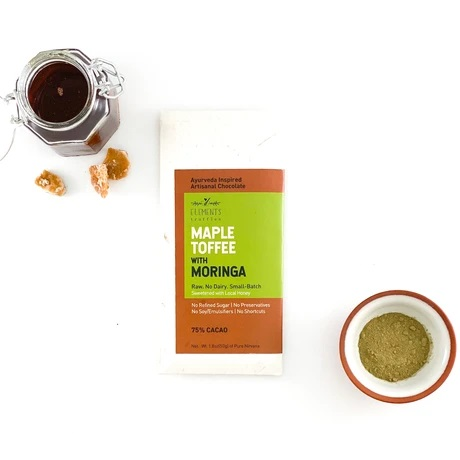Maple Toffee with Moringa Bar