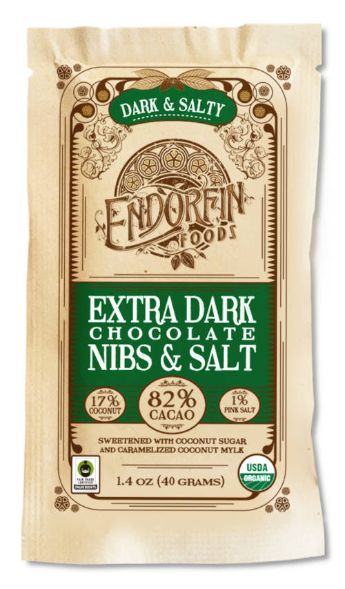 Endofrin Foods Dark and Salty Bar