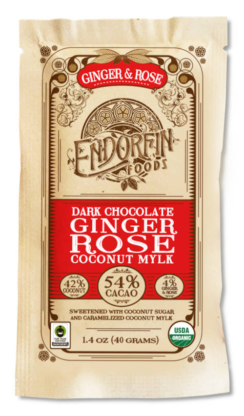 Endofrin Foods Ginger and Rose Bar