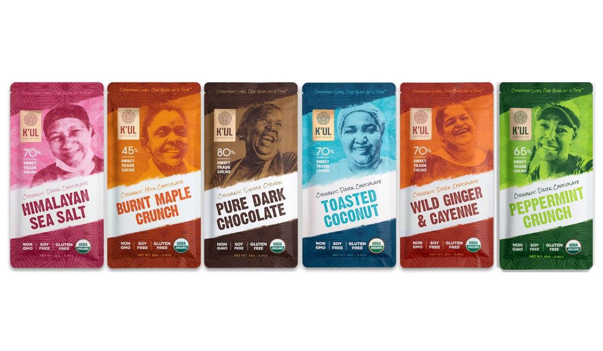 Kul Chocolate Six Bar Collection