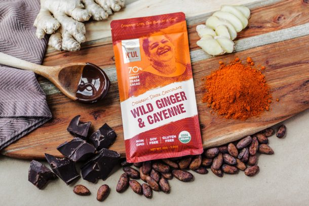 Kul Chocolate Wild Ginger and Cayenne Beauty