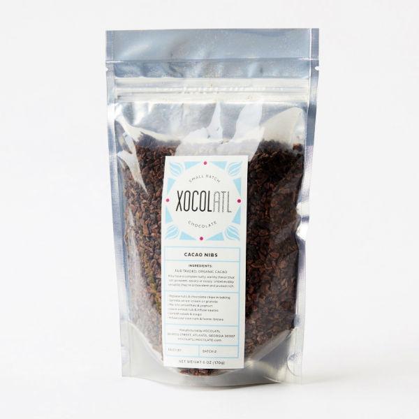Xocolatl Cacao Nibs in Package